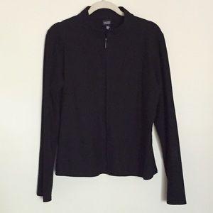 Zip front jacket M